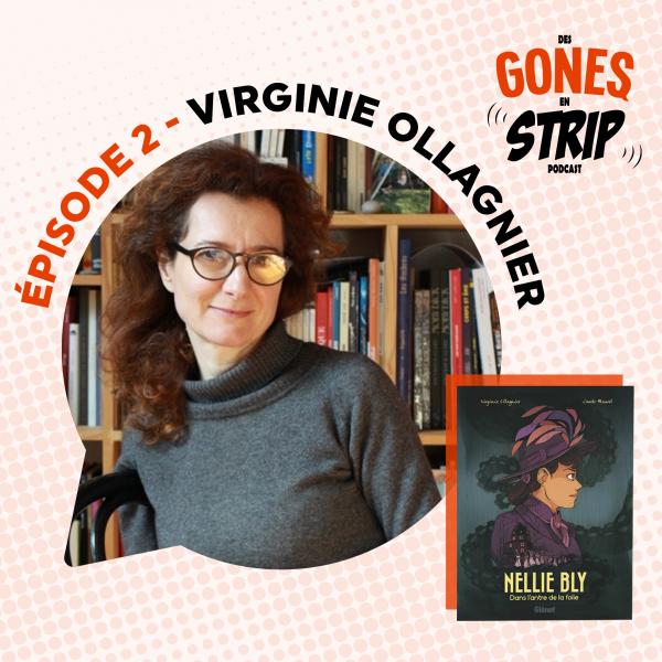 Écoutez notre podcast avec Virginie Ollagnier