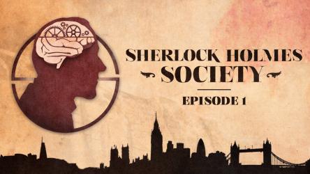 Sherlock Holmes Society — L'enquête audio