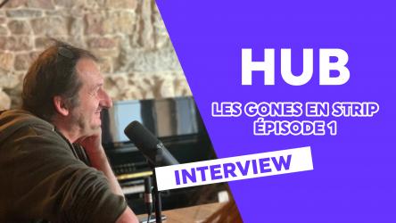 Interview de HUB, scénariste et dessinateur du Serpent et la Lance